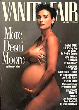 Demi Moore Pregnant and Beautiful