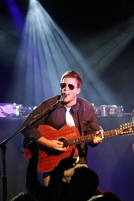 JJ Usher on stage